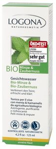Gesichtswasser Bio Minze & Bio Zaubernuss - Logona