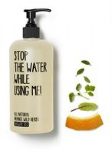All Natural Orange Wild Herbs Shower Gel - Stop The Water While Using Me!