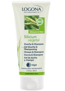 Silicium vegetal Dusche & Shampoo - Logona