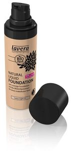 Natural Liquid Foundation Ivory Light 01 - Lavera