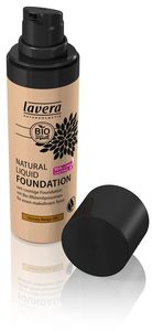 Natural Liquid Foundation Honey Beige 04 - Lavera