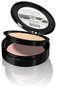 2 in 1 Compact Foundation Ivory 01 - Lavera