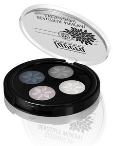 Beautiful Mineral Eyeshadow Quattro Smoky Grey 01 - Lavera