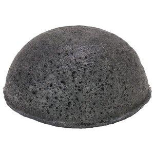 The Konjac Sponge Half Ball Schwarz Fettige und unreine Haut - KONGY