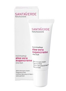 Aloe Vera Augencreme ohne Duft - Santaverde