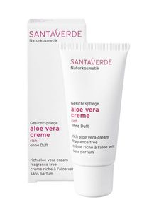 Aloe Vera Creme rich ohne Duft - Santaverde
