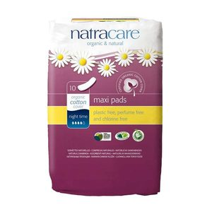 Maxi Pads Night Time - Natracare