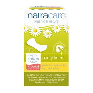 Panty Liners Curved - Natracare