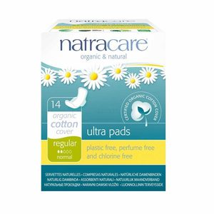 Natural Ultra Pads With Wings Regular - Natracare