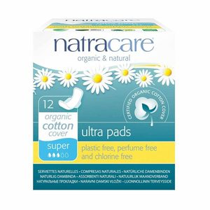 Natural Ultra Pads With Wings Super - Natracare