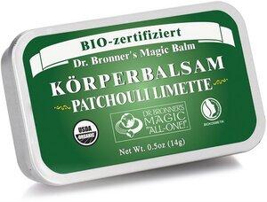 Körperbalsam Patchouli Limette - Dr. Bronner's
