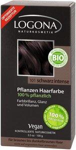 Pflanzenhaarfarbe Pulver Schwarz Intense - Logona