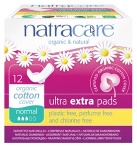 Ultra Extra Pads Normal - Natracare