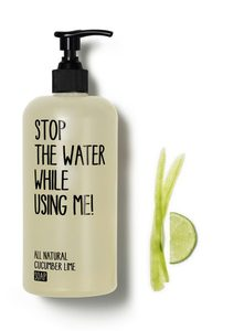 All Natural Cucumber Lime Soap - Stop The Water While Using Me!