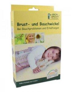 Kinder Brust- & Bauchwickel 2 - Grünspecht