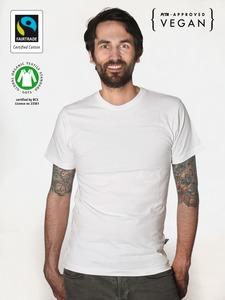 Fairtrademerch Men's Organic T-Shirt (white) GOTS - Fairtrademerch