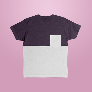 wat? Apparel - Plum Pocket T-Shirt Unisex - What about Tee