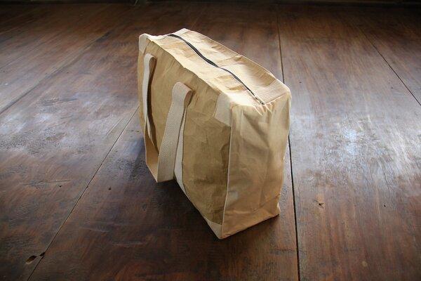 by copala weekender vegan tasche aus recycling papier wasserfest white avocadostore. Black Bedroom Furniture Sets. Home Design Ideas