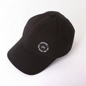 WAVE POLO CAP BLACK - HAFENDIEB