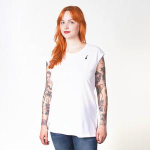 BOJE WOMEN T-SHIRT WHITE - HAFENDIEB