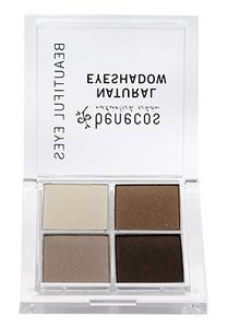 Natural Quattro Eyeshadow COFFEE & CREAM - benecos