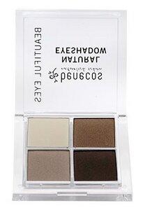 Natural Quattro Eyeshadow COFFEE & CREAM - benecos