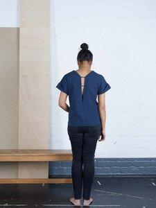 Shirt Suraya Nachtblau - Jyoti - Fair Works