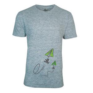FAIRLIEBT Flieger T-Shirt, grau - Fairliebt.