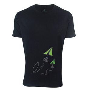 FAIRLIEBT Flieger T-Shirt, schwarz - Fairliebt.