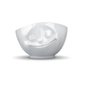 Glückliche weiße TV Tasse  500ml - FIFTYEIGHT PRODUCTS