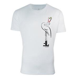 FAIRLIEBT Storch T-Shirt, weiß - Fairliebt.
