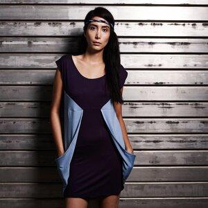 Kleid Dolomiti nachtblau - eisbörg