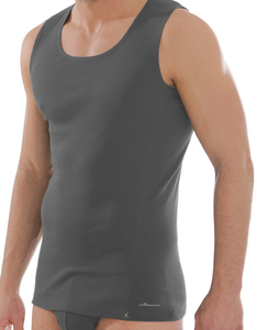 Shirt ohne Arm anthrazit - comazo|earth