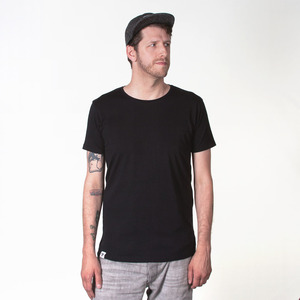 BLANKO MEN T-SHIRT BLACK - HAFENDIEB