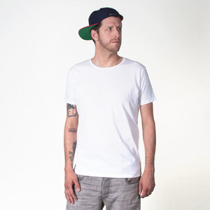 BLANKO MEN T-SHIRT WHITE - HAFENDIEB