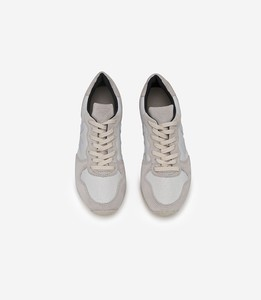 HOLIDAY LOW TOP SUEDE B-MESH WHITE PIERRE - Veja