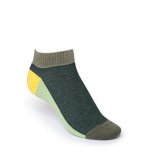ThokkThokk Layer Low-Top Socken Green  - THOKKTHOKK