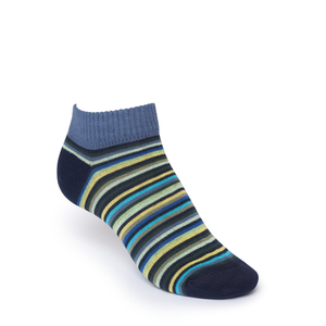 ThokkThokk Multi Striped Low-Top Socken  - THOKKTHOKK