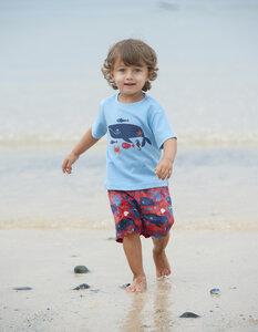 Frugi T-Shirt mit Wal - Frugi