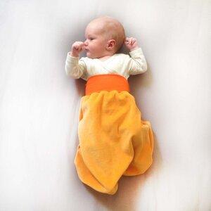 Strampelsack gelb/orange - bingabonga®