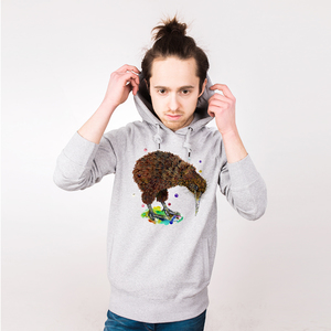 Kiwi - Männerhoodie aus Bio-Baumwolle - Coromandel