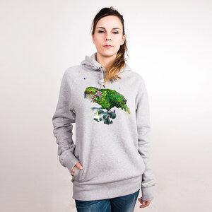 Kakapo - Frauenhoodie aus Bio-Baumwolle - Coromandel