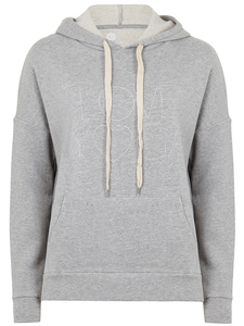 Easy Hoodie - light grey - Mandala