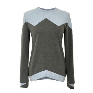 Bovo Sweater anthrazit x puderblau - eisbörg