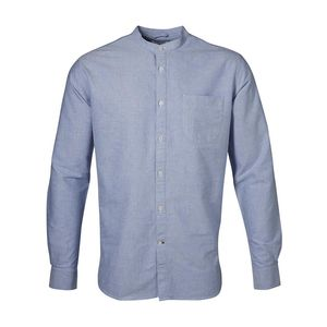 Stand Collar Shirt Limoges - KnowledgeCotton Apparel