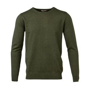 Basic O-Neck Cashmere / Cotton - KnowledgeCotton Apparel