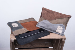 Refashion Touchpad- / Ipadtasche - Kluntje