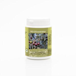 50 Bio Olivenblätter Kapseln  - Weltecke