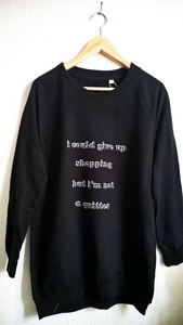 i could give up shopping Longsweat - WarglBlarg!