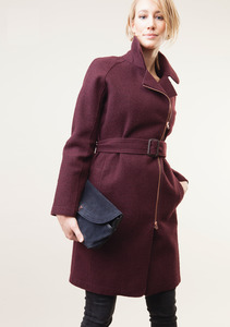 Coat Hutton - Prune - LangerChen